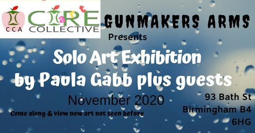 Solo Art Exhibition by Paula Gabb Core Collective Art