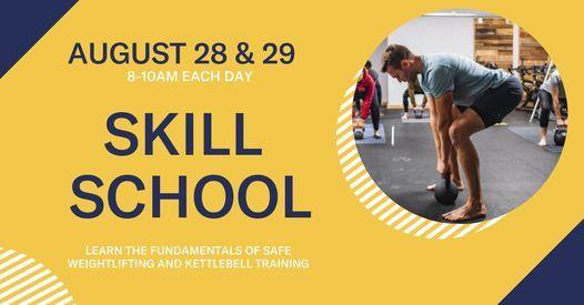 Skill School- Weekend Intensive, 28 August   Event in Victoria   AllEvents.in