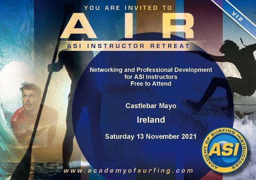 AIR - ASI Instructor Retreat – Castlebar Ireland 13 Nov 2021, 13 November   Event in Castlebar   AllEvents.in