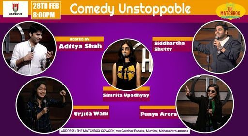 Comedy Unstoppable | Online Event | AllEvents.in