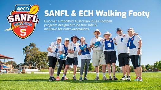 SANFL & ECH Walking Footy Come & Try  26 Feb Session 1