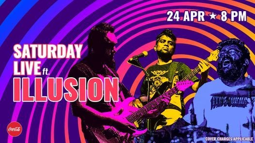 Saturday Live ft. Illusion, 24 April | Event in Hyderabad | AllEvents.in