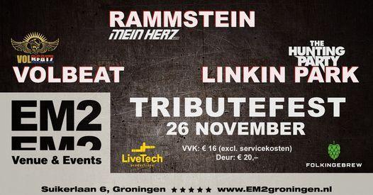 TributeFest - Rammstein Volbeat Linkin Park