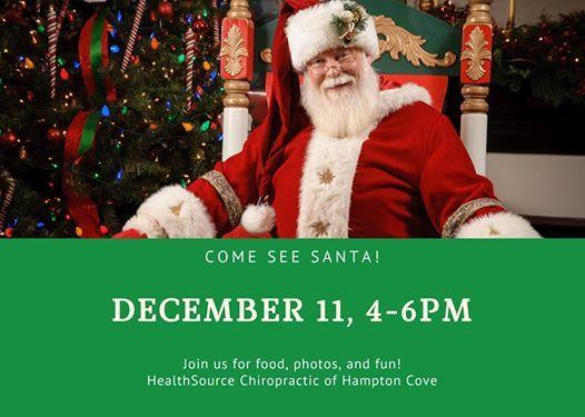 Santa at HealthSource