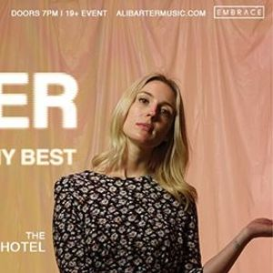 Ali Barter at The Drake Hotel  Nov 15