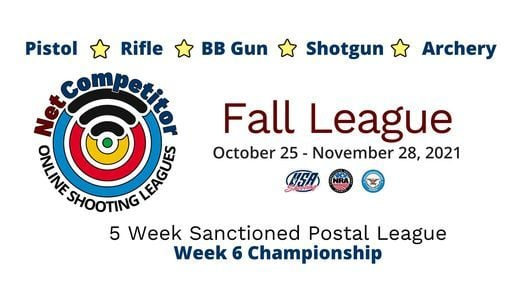 Fall League - Shooting Postal League Match, 25 October   Online Event   AllEvents.in