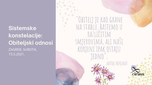 Sistemske konstelacije u Zagrebu | Event in Zagreb | AllEvents.in