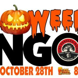 Halloween Music Bingo  The Tangled Wood  Wed Oct 28th at 8pm