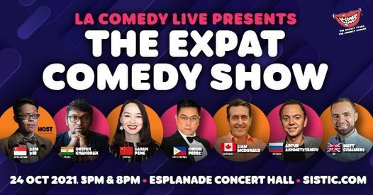 The Expat Comedy Show, 24 October   Event in Singapore   AllEvents.in
