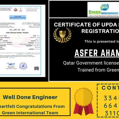 Exam for engineers in Qatar  MMUP Architecture