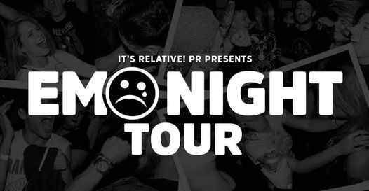 The Emo Night Tour - Riverside, 6 November | Event in Riverside | AllEvents.in