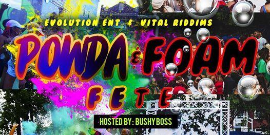 POWDA AND FOAM FETE !! at Boston, Massachusetts, Boston