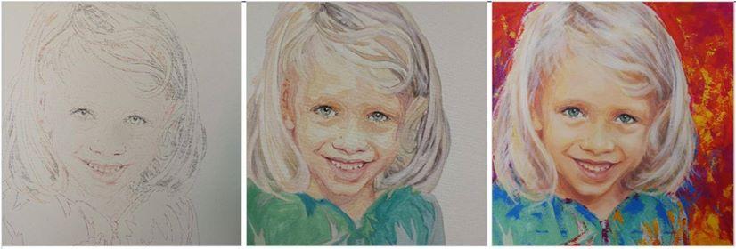 Vom digitalen Foto zum gemalten Bild  mit Barbara Pacholik