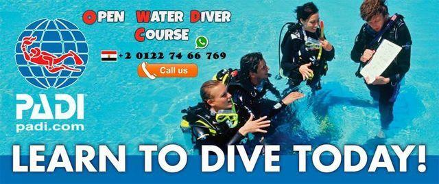 دورة غواص مياه مفتوحة للمبتدئين بادى PADI Open Water Diver Course for Beginners, 19 December