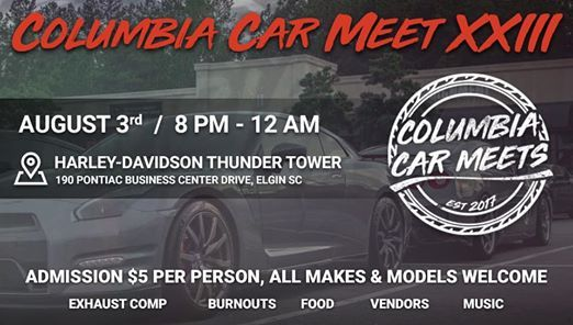 Columbia Car Meet XXIII at Thunder Tower Harley-Davidson, Elgin