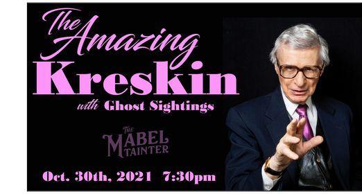 The Amazing Kreskin - Ghost Stories, 15 May | Event in Menomonie | AllEvents.in