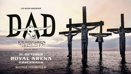 D-A-D [support Graveyard & Kellermensch] Royal Arena