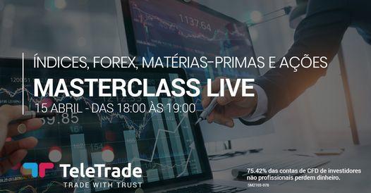 MASTERCLASS LIVE - Análise de Índices, Forex, Matérias-Primas e Ações | Event in Lisbon | AllEvents.in