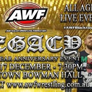 AWF Pro-Wrestling Legacy - 22 Year Anniversary Event