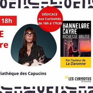 Rencontre-ddicace avec Hannelore Cayre