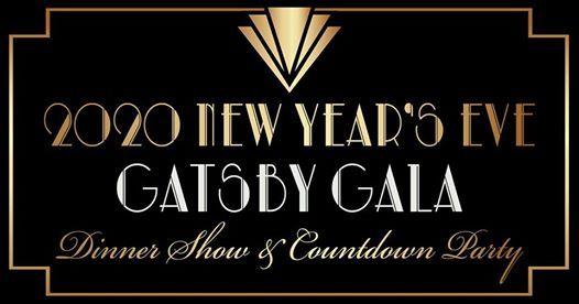 2020 New Years Eve Gatsby Gala Dinner Show