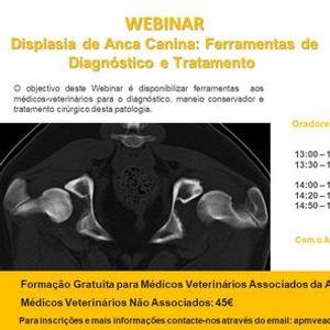 Webinar  Displasia de Anca Canina Ferramentas de Diagnstico e Tratamento