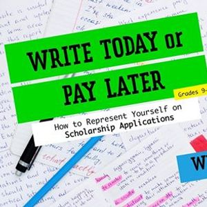 Write Today or Pay Later