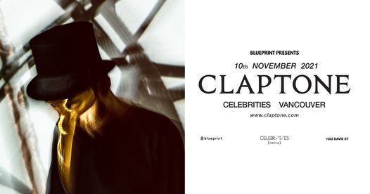 Claptone – Vancouver, 10 November | Event in Vancouver | AllEvents.in