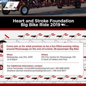 G.O.A Heart & Stroke Foundation Big Bike Ride 2019