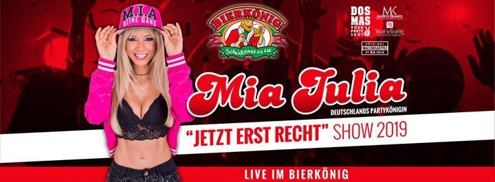 Mia Julia LIVE - 17 Uhr - Bierknig Mallorca