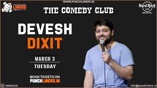 Punchliners Comedy Show ft. Devesh Dixit Live in Bangalore