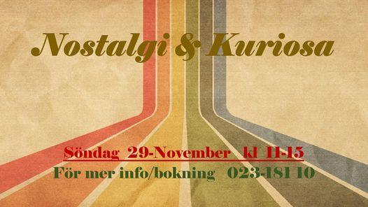 Nostalgi & Kuriosa, 29 November | Event in Falun | AllEvents.in
