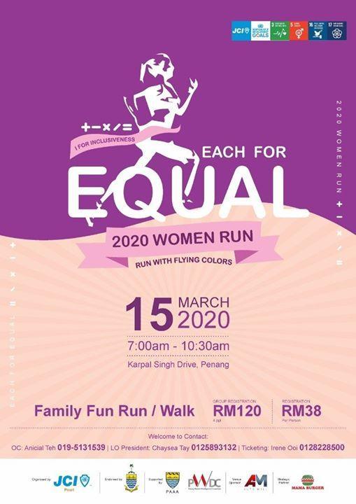 JCI Pearl 2020 Women Run Run With Flying Colors
