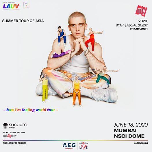 Sunburn Arena with LAUV