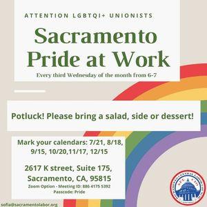 October Pride at Work Meeting