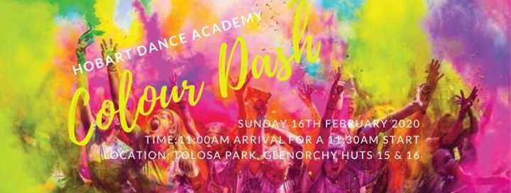 Hobart Dance Academy - Colour Dash Sunday 16th February