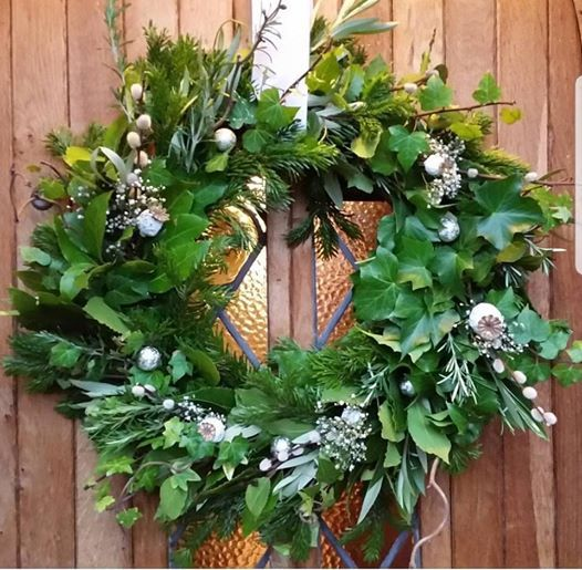 Gardening Lady Christmas Wreath Making Workshop 1