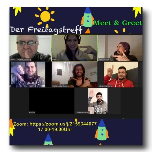 Online: Meet & Greet - der Freitagstreff, 7 May | Online Event | AllEvents.in