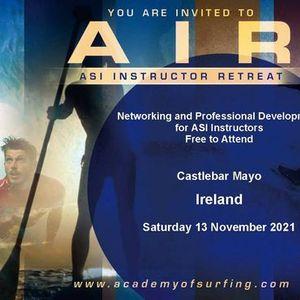 AIR - ASI Instructor Retreat  Castlebar Ireland 13 Nov 2021