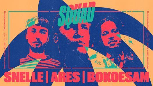 Squad Snelle Ares Bokoesam in Ronda  TivoliVredenburg