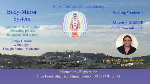 Body-Mirror Healing Week-end, 28 November | Event in Athens | AllEvents.in