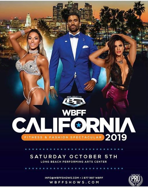 2019 WBFF California Fitness & Fashion Spectacular at Long Beach