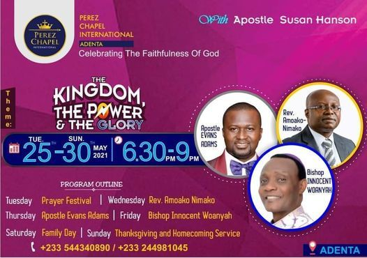 THE KINGDOM, THE POWER & THE GLORY, 25 May | Event in Accra | AllEvents.in