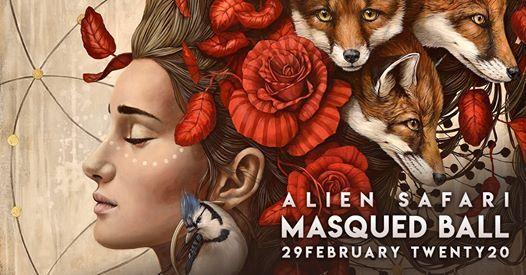 Alien Safari Masqued Ball 2020