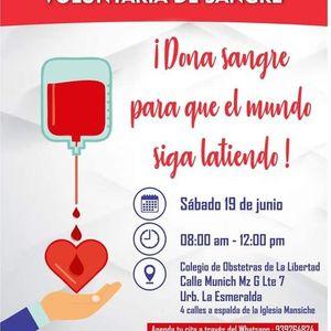 Campaa de Donacin Voluntaria de Sangre