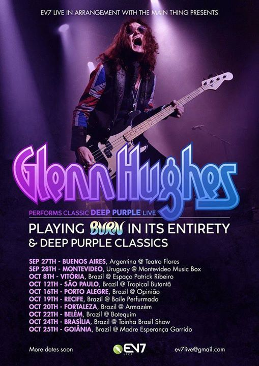 Glenn Hughes - BURN  Clssicos do Deep Purple  Fortaleza