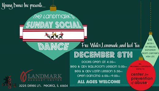 Second Sunday Social Dance for Center for Prevention of Abuse