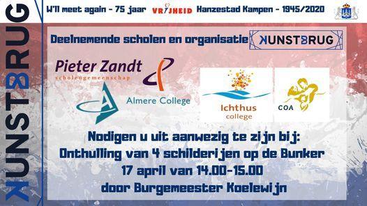 Onthulling van het Kunstbrug project De Bunker, 17 April | Event in Kampen | AllEvents.in