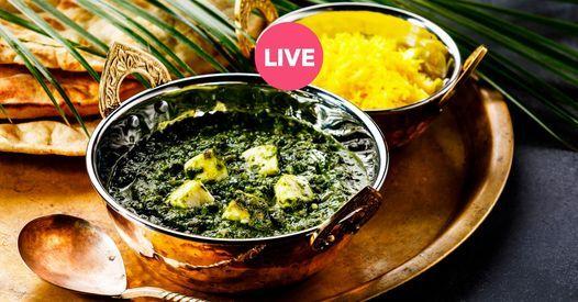 Online Kochkurs: Palak Paneer   Online Event   AllEvents.in