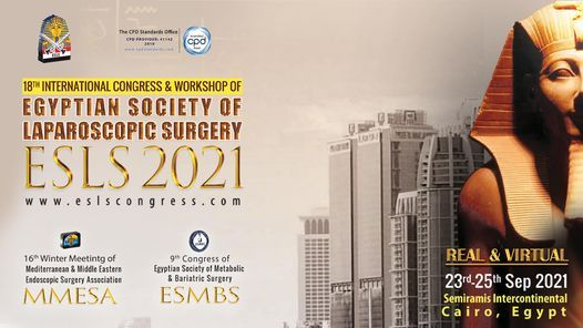 18th International Congress & Workshop of Egyptian Society of Laparoscopic Surgery ESLS 2021, 23 September